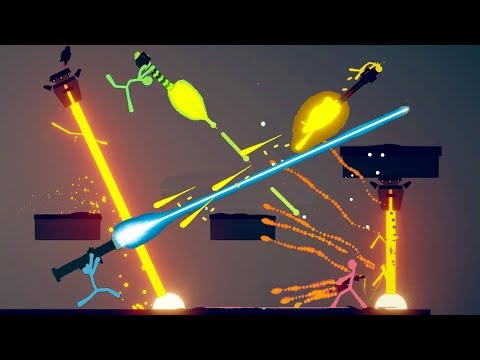 WIELDING EPIC NEW CUSTOM WEAPONS IN CRAZY STICK FIGHT BATTLES! - Stick Fight: The Game Gameplay