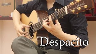 "Despacito - Luis Fonsi ft. Justin Bieber  ""Acoustic Guitar Cover"" with Tabs"