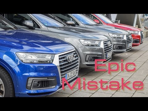 Why Audi's Making An Epic Mistake With The E-Tron Sales Model