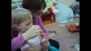 ігри з дітьми 2-3 років, центр Зародження, р. Глазов