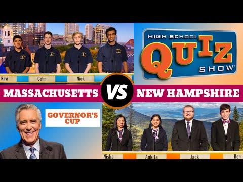 High School Quiz Show - Governor's Cup 2017: Massachusetts vs. New Hampshire (816)