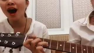 Macdonald - Hiến lễ tình yêu Guitar cover by Thùy Duyên. If Trà Hoàng