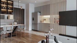 Spacious one bedroom apartment design ideas pt2