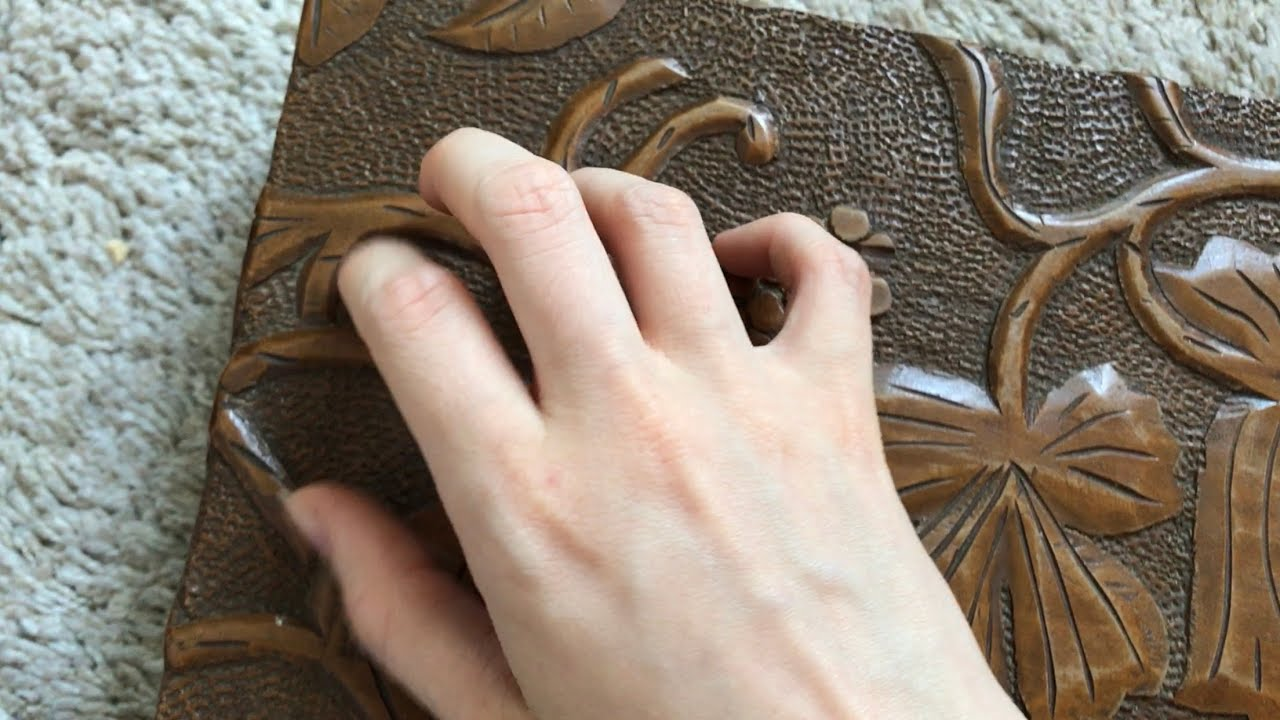 [ASMR] Fast Tapping and Scratching on a Wooden Box