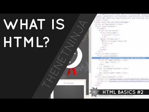 HTML Tutorial For Beginners 02 - What Is HTML?
