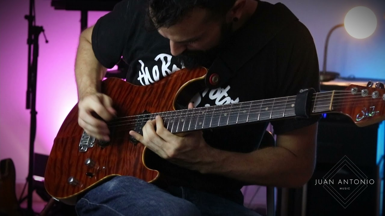 Modern Progressive Metal/Rock Fusion Guitar Solo