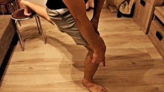видео Как накачать ноги в домашних условиях мужчине
