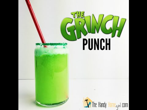 How To Make A Holiday Punch : GRINCH PUNCH!  I  Things You And I Should Try  I  Ep: 08
