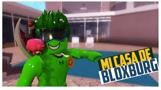 Bloxburg My New House, House Tour of Morosamy ROblox in Spanish