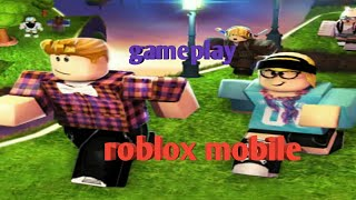 Roblox mobile! Gameplay (gaming with ujjwal)