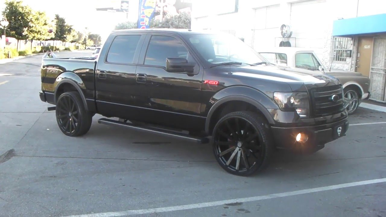 877 544 8473 26 inch velocity vw12 all black wheels 2014 ford f150 rims free shipping call us youtube