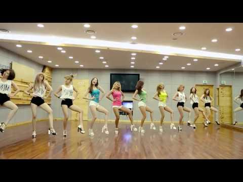 "SISTAR (씨스타) - ""Touch My Body"" Dance Practice Ver. (Mirrored)"