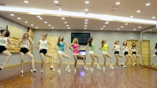 "SISTAR (씨스타) - ""Touch my body"" Dance Practice Ver. (Mirrored)"
