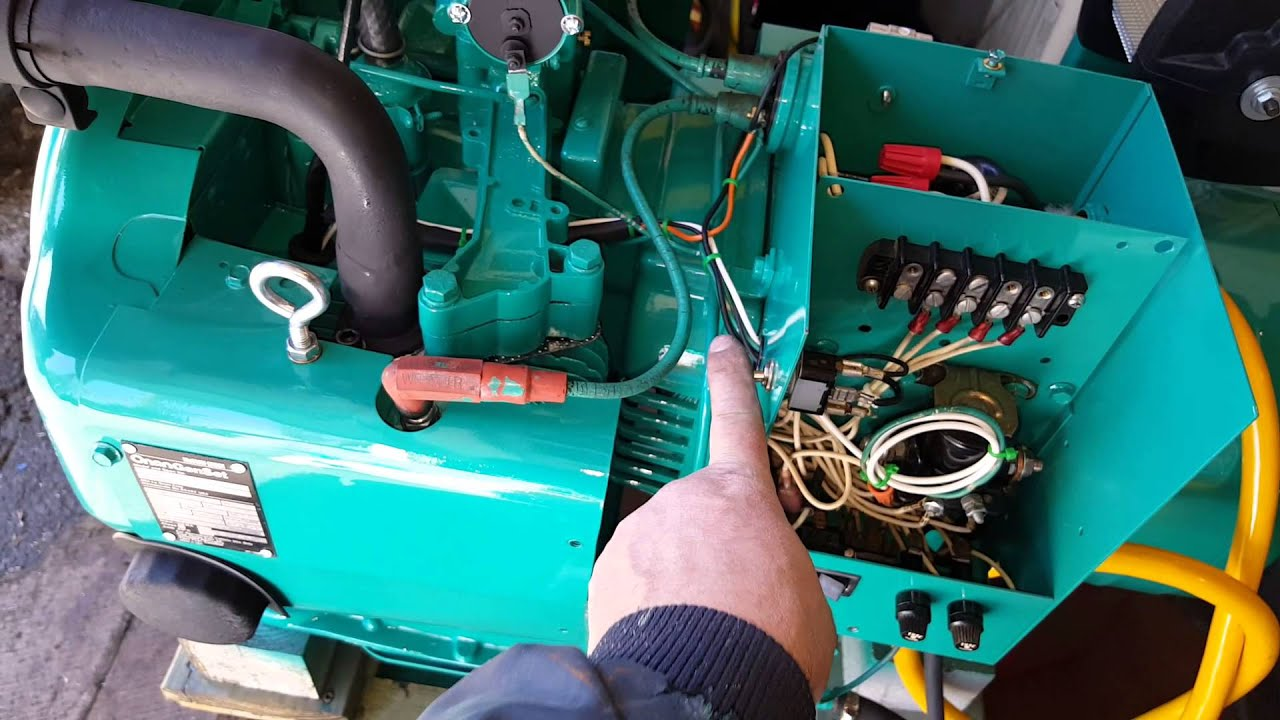 Onan Electronic Ignition For The 65nh Youtube P216 Wiring Diagram