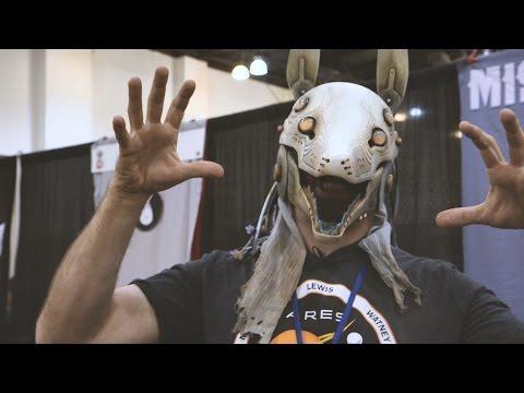 DesignerCon 2016: Miss Monster's Masks and Sculptures