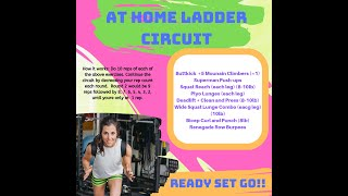 At-Home Ladder HIIT Circuit