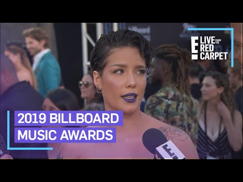Halsey Teases Performance With BTS at BBMAs 2019  E Red Carpet & Award Shows