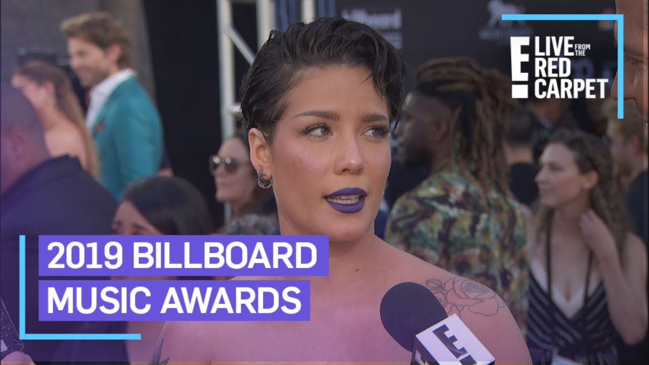 Halsey Teases Performance With BTS at BBMAs 2019 | E! Red Carpet & Award Shows image