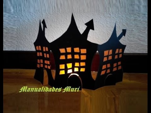 Manualidades casas encantadas para decorar en halloween for Manualidades decoracion casa