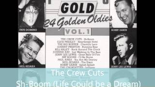 The Crew Cuts - Sh-Boom ( Life Could be a dream ) HQ SOUND