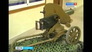 Выставка оружия времен Великой Отечественной