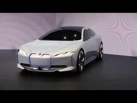 Frankfurt Motor Show: BMW i Vision Dynamics electric
