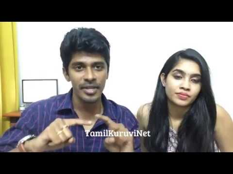 Arun Sanjana Real Couple / Speech to big boss to show LIve chat Video