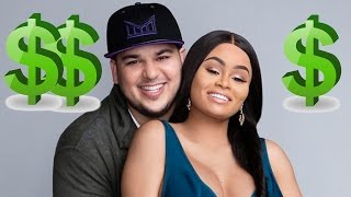 Blac Chyna & Rob Kardashian Set To Televise Baby's Birth For HOW Much?!