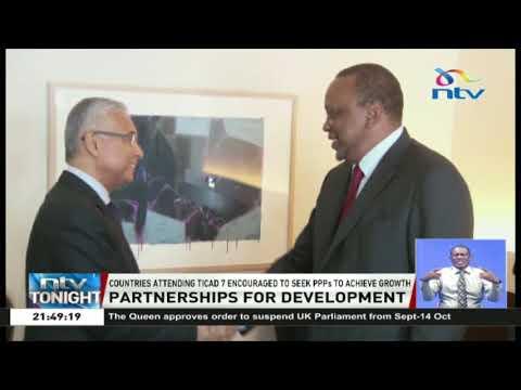 President Uhuru Kenyatta joins various leaders at TICAD 7 in Japan