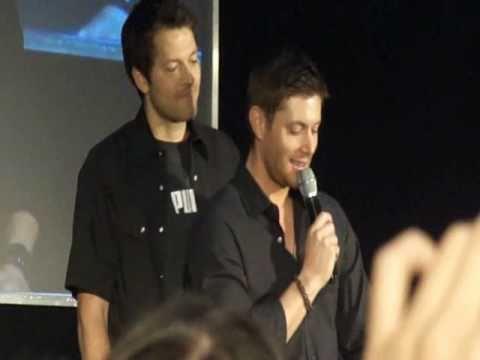 Jensen Ackles U0026 Misha Collins   Jus In Bello 2011 9.4.2011   YouTube