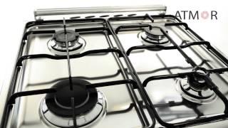 Газовые плиты Fresh модель 55x55 FORNO F55G5