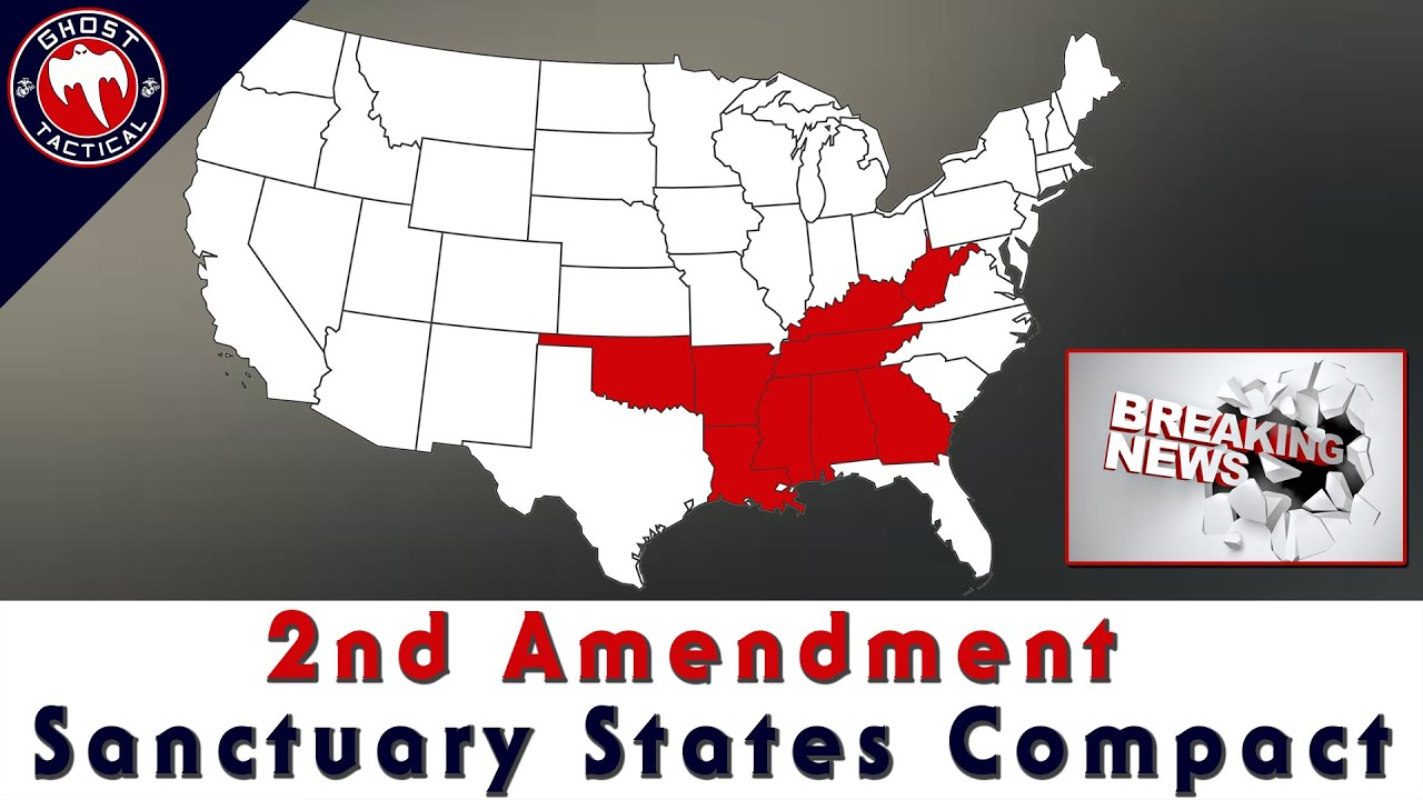 BREAKING NEWS!  Interstate Compact on Second Amendment Sanctuary