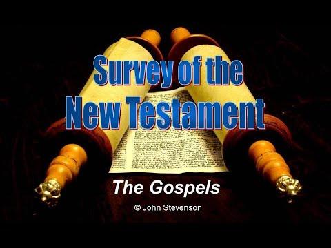 New Testament Survey 04 - The Gospels