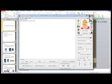 Dspeech: Text to speech freeware for Win