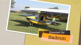 Quad City Challenger II Light Sports Aircraft Flying Columbus OHIO