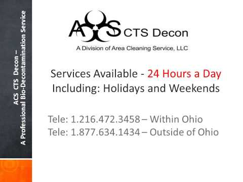 ACS CTS Decon (a Division of Area Cleaning Service, LLC)