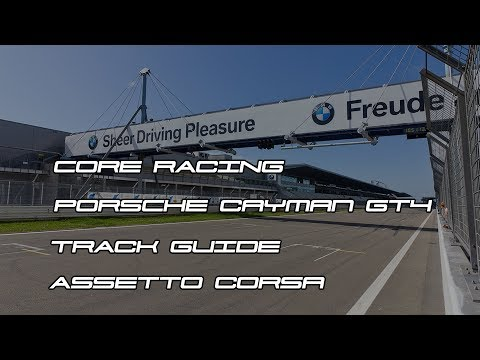 Core Racing   Cayman Cup   Nurburgring Sprint GT Track Guide