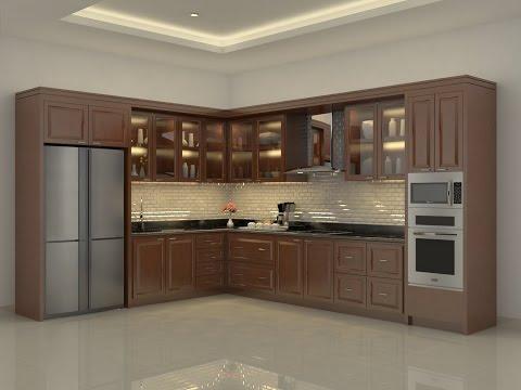 Sketchup Kitchen Build + Vray Render