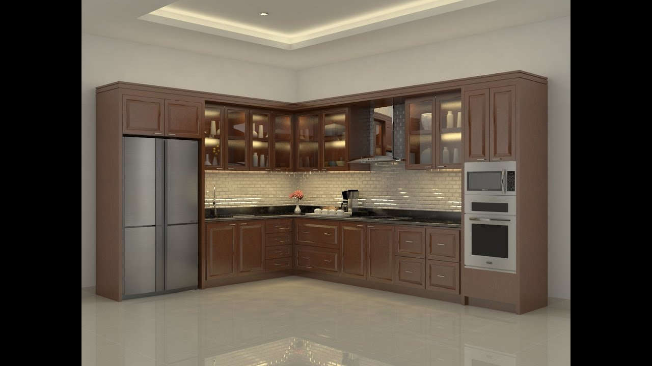 Sketchup Kitchen Build Vray Render Youtube