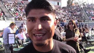 MIKEY GARCIA TALKS COMEBACK AND FUTURE AT 140-147