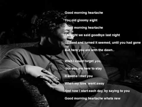 Ella Fitzgerald - Good morning Heartache - Newport Jazz Festival 1973