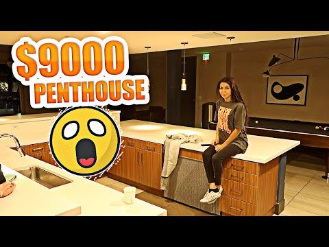 WE MOVED IN A $9000 PENTHOUSE! OMG ITS AMAZING!