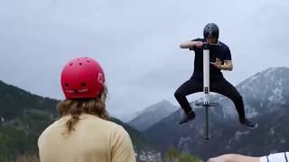 Устройство для совершения прыжков в высоту. Интересные развлечения. Обзор на Китайский товар