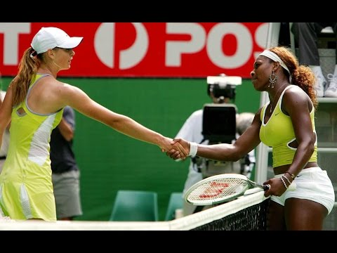 Serena Williams VS Maria Sharapova Highlight 2005 AO SF
