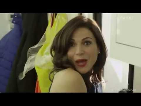 Yahoo Super:  tour with Lana Parrilla LEGENDADO