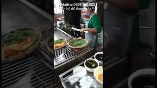 Bàn giao lò nướng salamander 6 họng tại nhà hàng