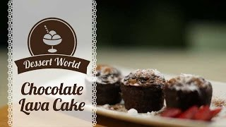 Dessert World: Chocolate Lava Cake