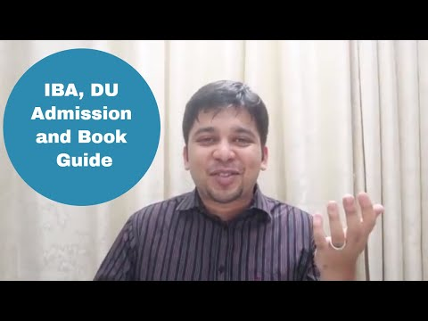 IBA, DU Admission and Book Guide | University Admission Tips
