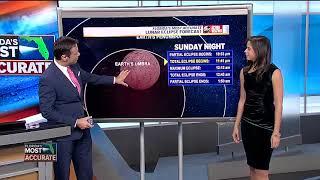 Total lunar eclipse Sunday night