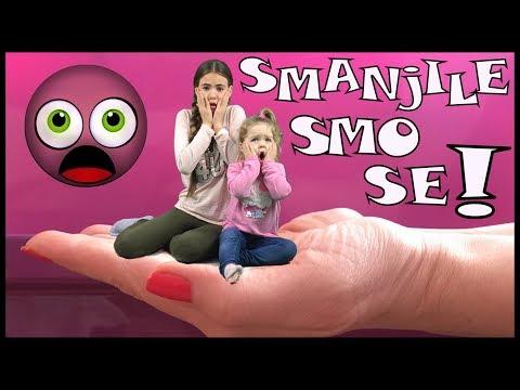 Mama, SMANJILE SMO SE!!! Mom, We Shrunk Ourselves!!!
